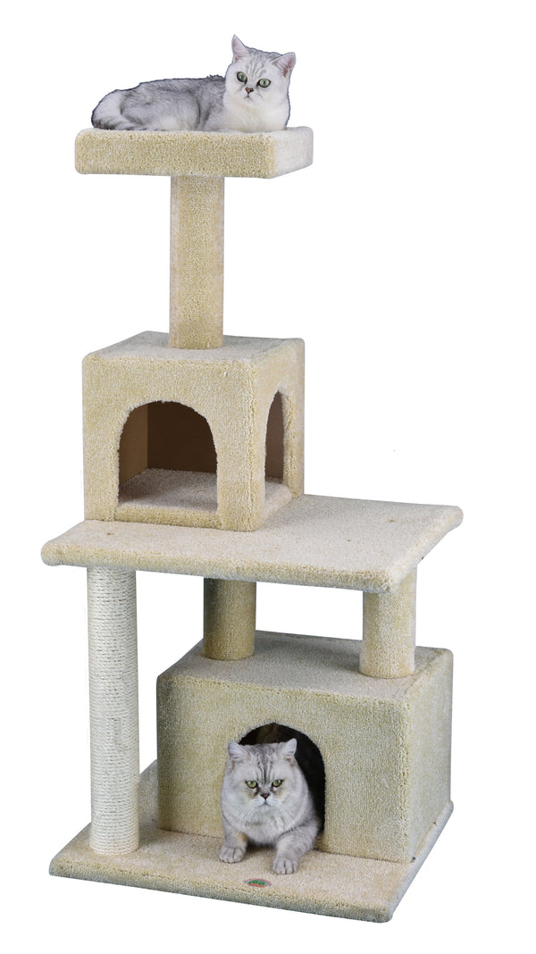 "51"" Premium Carpeted Cat Tree Furniture (LP-842)"