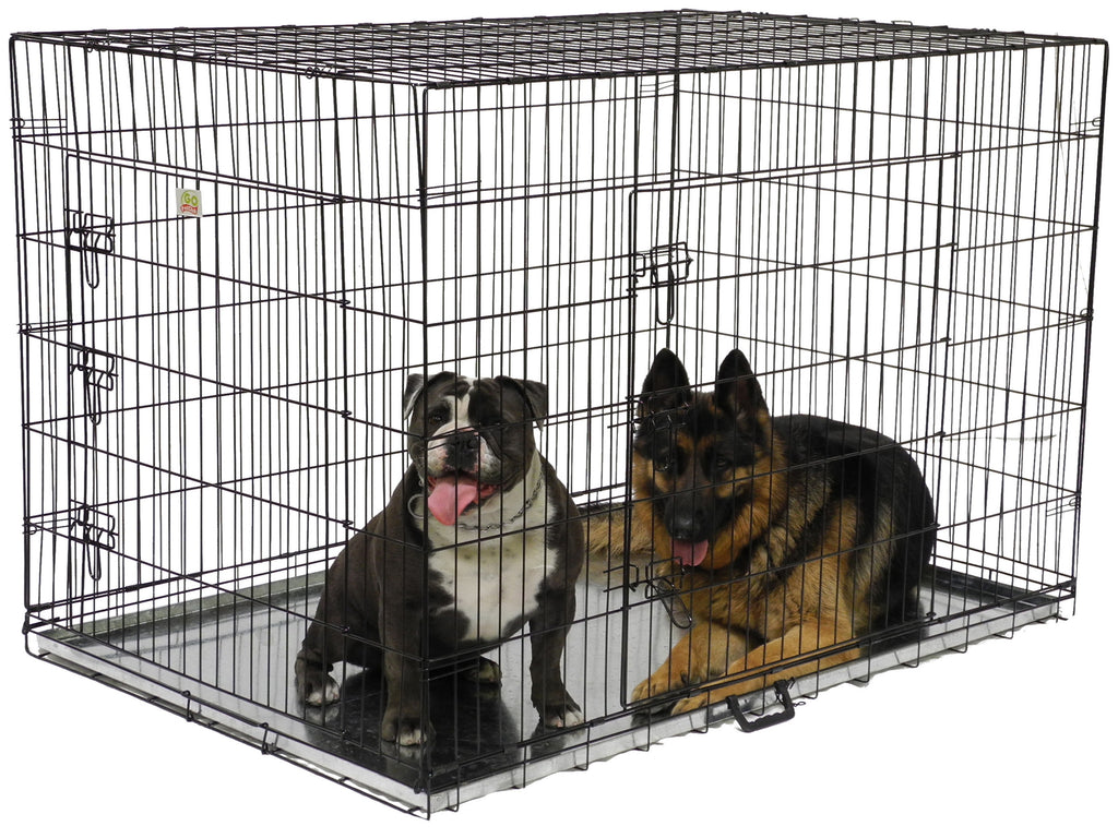 "54"" Metal Dog Crate with Divider (MLD-54)"
