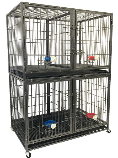 """44"""" Stackable Heavy Duty Crate (NY-44) – Go Pet Club"""