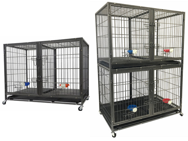 "44"" Stackable Heavy Duty Crate (NY-44) – Go Pet Club"