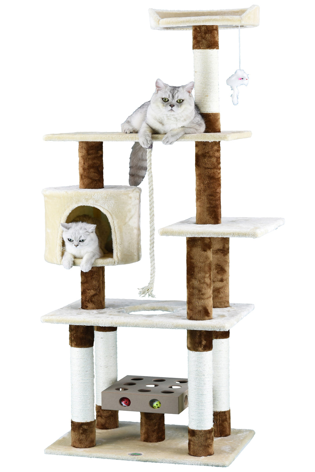 "67"" IQ Box Cat Tree Condo Furniture (SF051)"