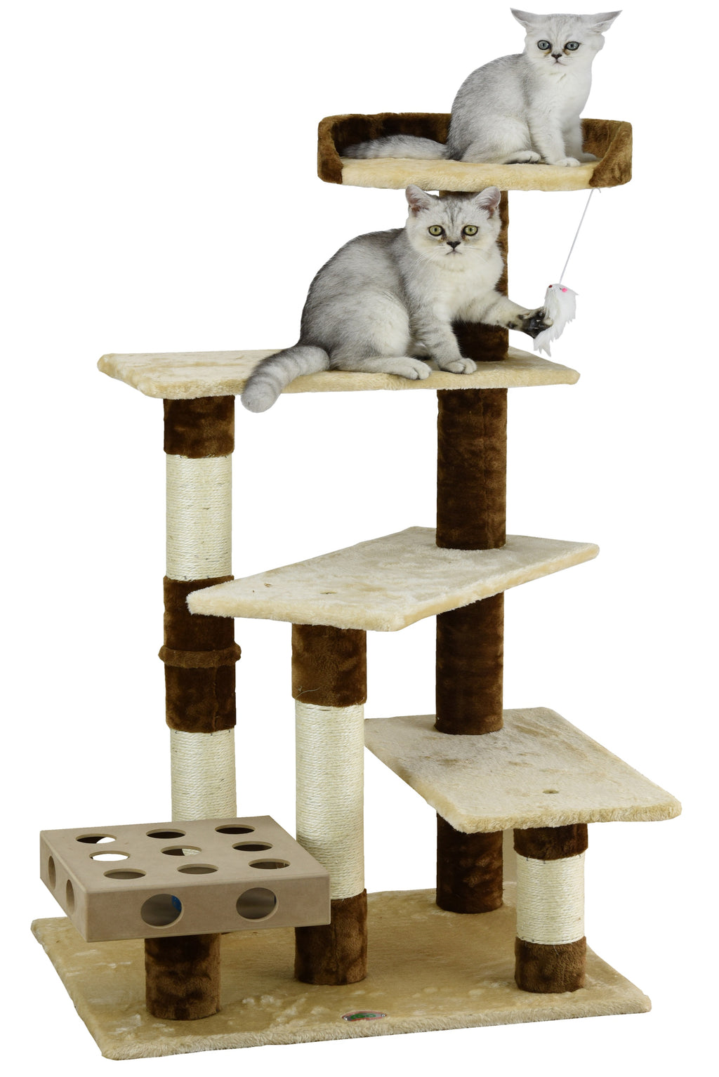 "45"" IQ Box Cat Tree (SF052)"