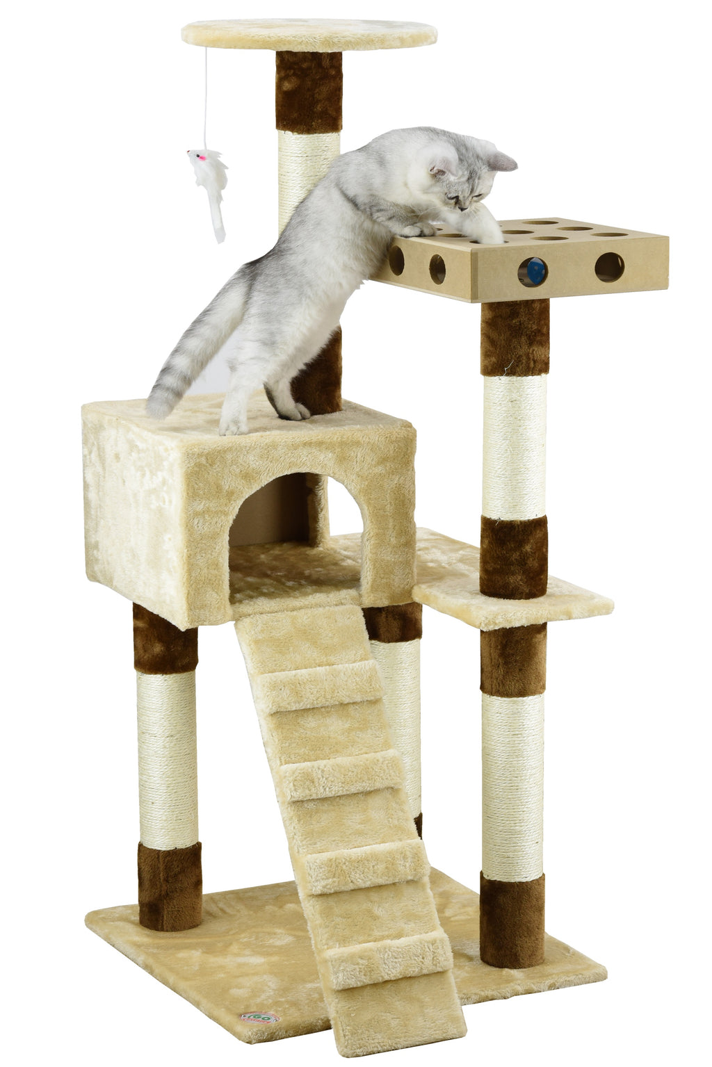 "52"" IQ Box Cat Tree (SF058)"