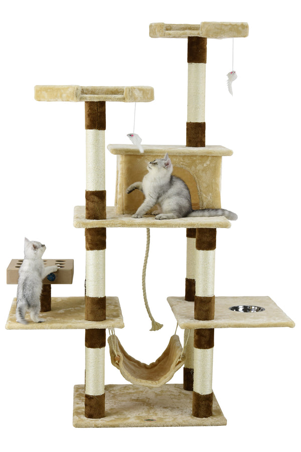 "70"" IQ Box Cat Tree (SF060)"