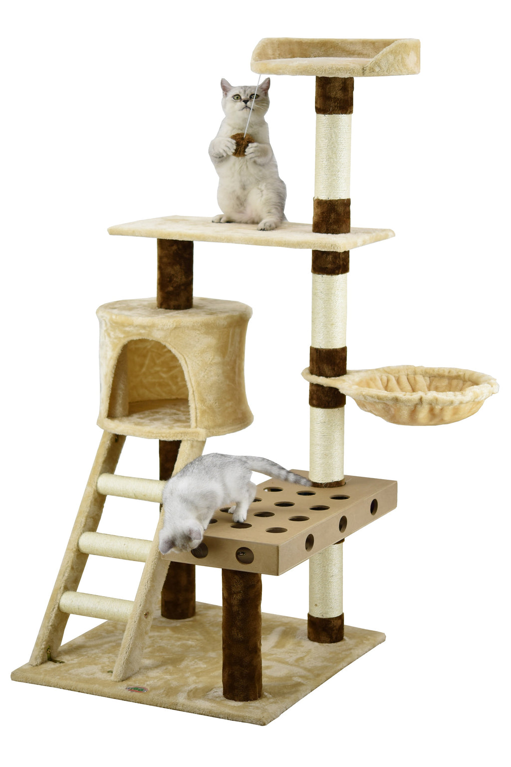 "59"" IQ Box Cat Tree (SF065)"