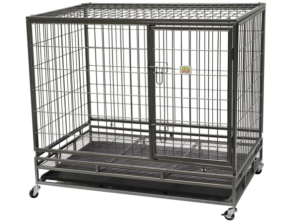 "Heavy Duty Steel Crate (Available in 37"" and 43"")"