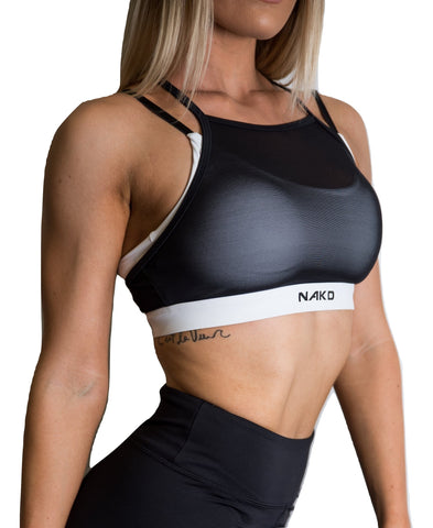 Women's Sports Bra - HOT MESH