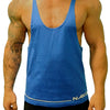Men's Gym Singlet - STRAIGHT LOW CUT