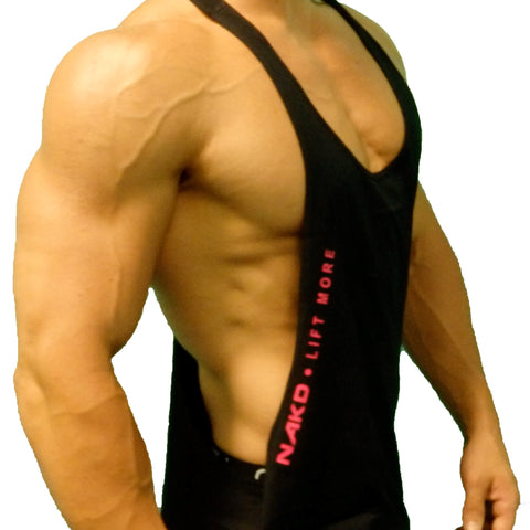 Men's Gym Stringer - SIGNATURE