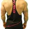 Men's Gym Singlet - LOW CUT DIAGONAL