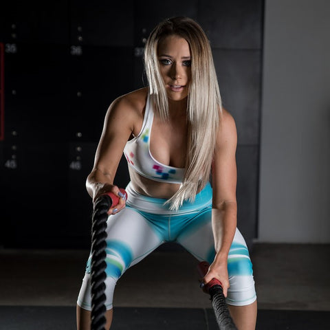 Women's Gym Leggings - SUMMER LOVIN