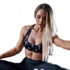 Women's Sports Bra - FIRE