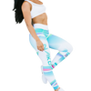Women's Gym Leggings - Full Length - SUMMER LOVIN