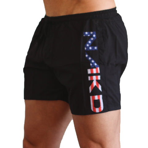 Men's Gym/Running Shorts - COUNTRIES AUS, USA, UK