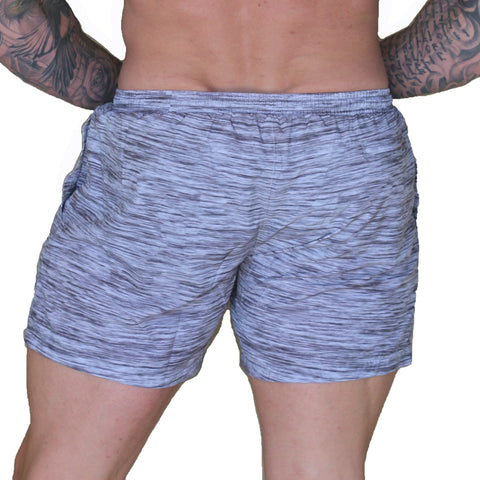 Men's Gym/Running Shorts - BLURRED LINES