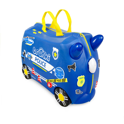 TRUNKI SUITCASE - POLICE CAR PERCY
