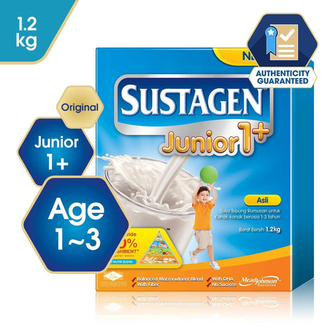 Sustagen Junior 1+ Original - 1.2kg