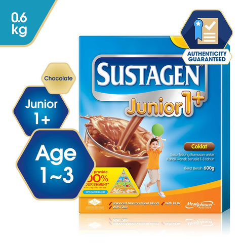 Sustagen Junior 1+ Chocolate - 600g