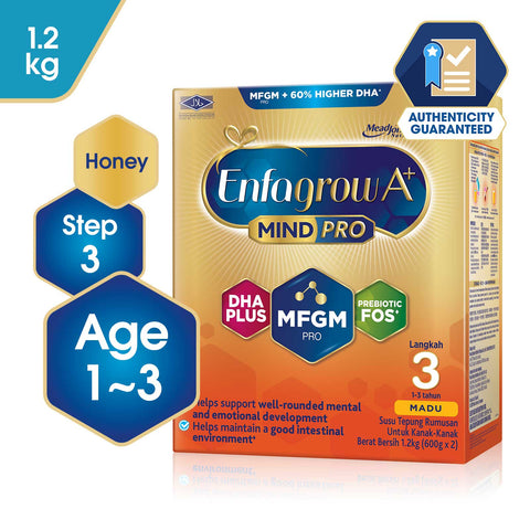 Enfagrow A+ Step 3 Honey - 1.2kg