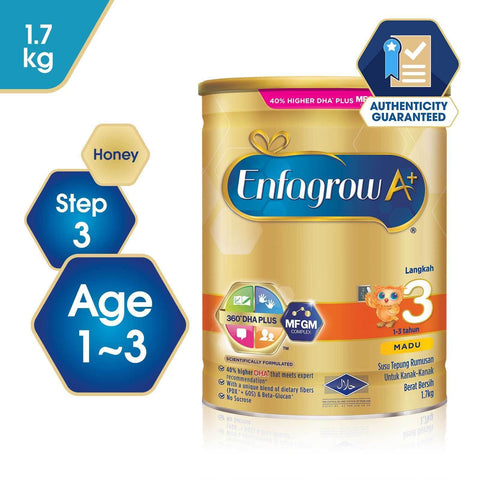 Enfagrow A+ Step 3 Honey 1.7kg