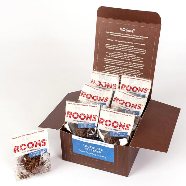Chocolate Espresso Roons