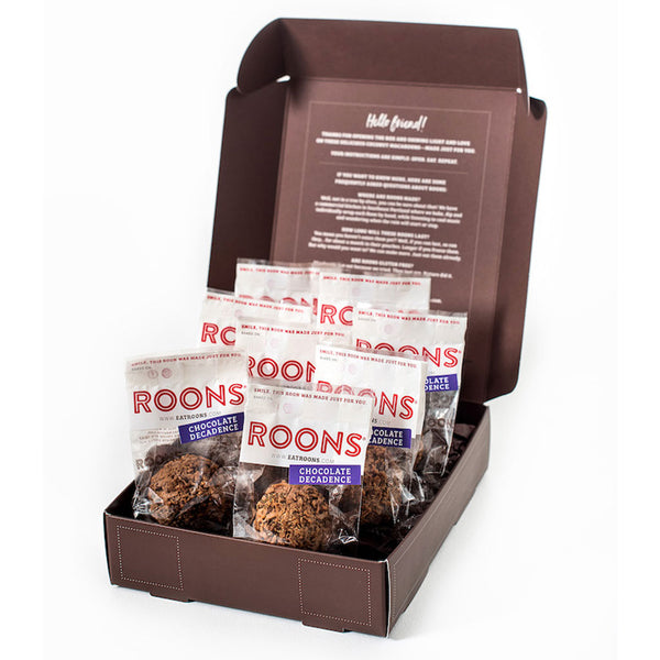 Chocolate Decadence Roons