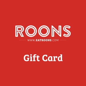 Roons Gift Card (digital)