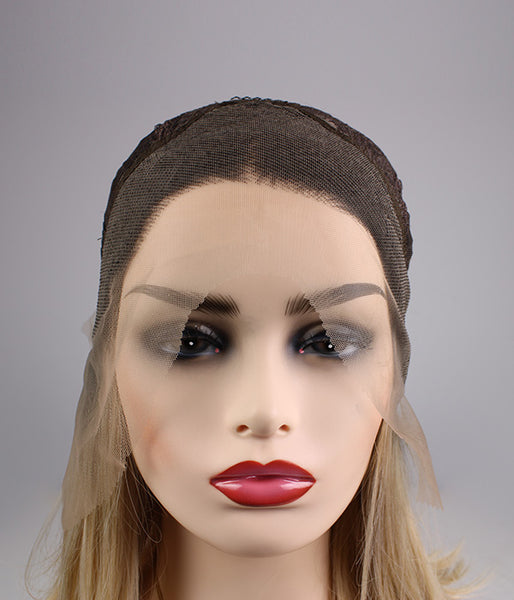 Sandstorm Synthetic Lace Front Wig - Baskley