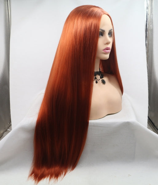 Fire Fox Synthetic Lace Front Wig - Baskley