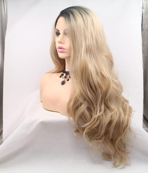 Sunkissed Synthetic Lace Front Wig - Baskley