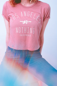"The ""Los Angeles or Nothing"" Crop Top"
