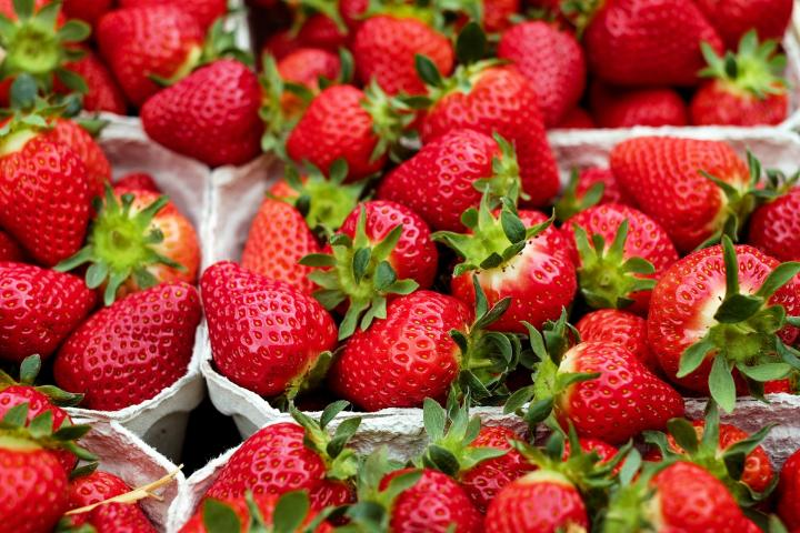 Now in season - Strawberries from Australia