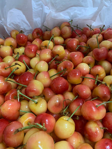 USA Jumbo Rainier Cherry 4kg 30-32mm