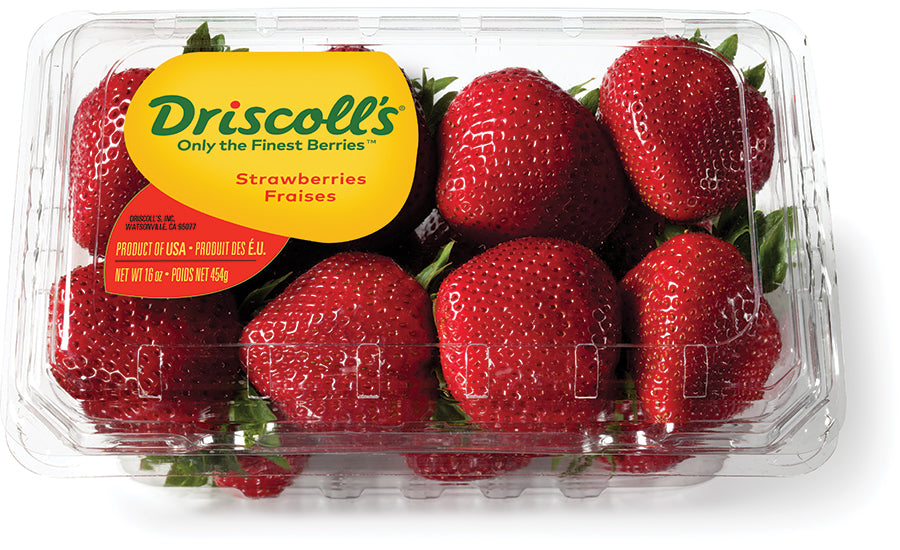Strawberries Driscoll's USA 8x454g