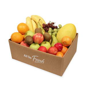 Customised fruit and vegetable boxes