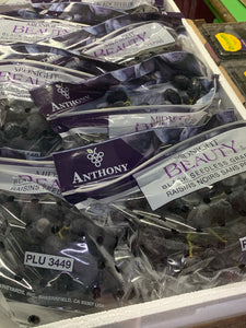 USA Midnight beauty black grapes 8kg