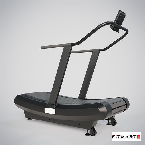Non Motorised Curve Treadmill