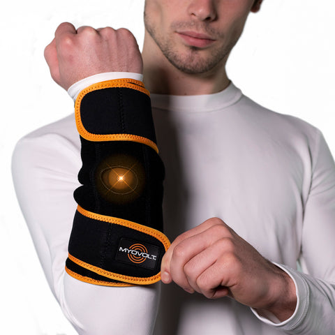 Myovolt Elbow & Wrist Kit - Wearable vibration muscle recovery