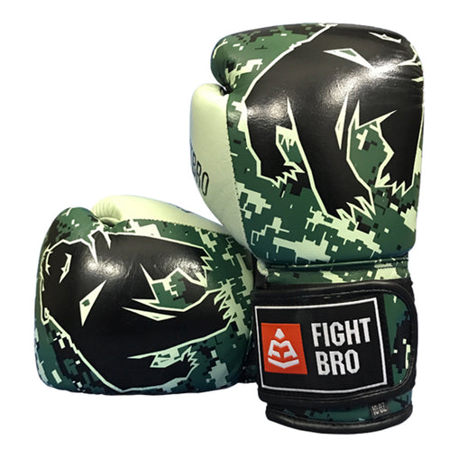 "FIGHTBRO ""Champ"" Series Leather Velcro Boxing Gloves"