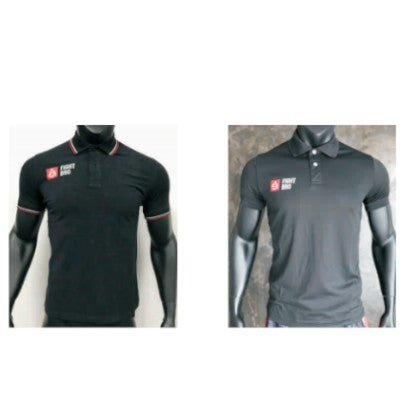 Referee Black Polo