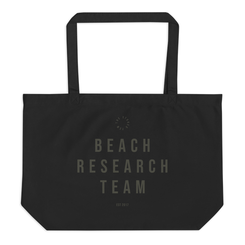 Beach Research Team (Organic Tote Bag)