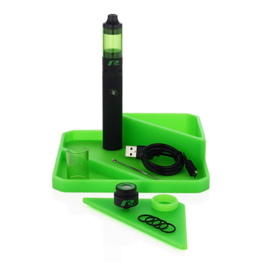 Featured View - Full Silicone Dab Station is Included