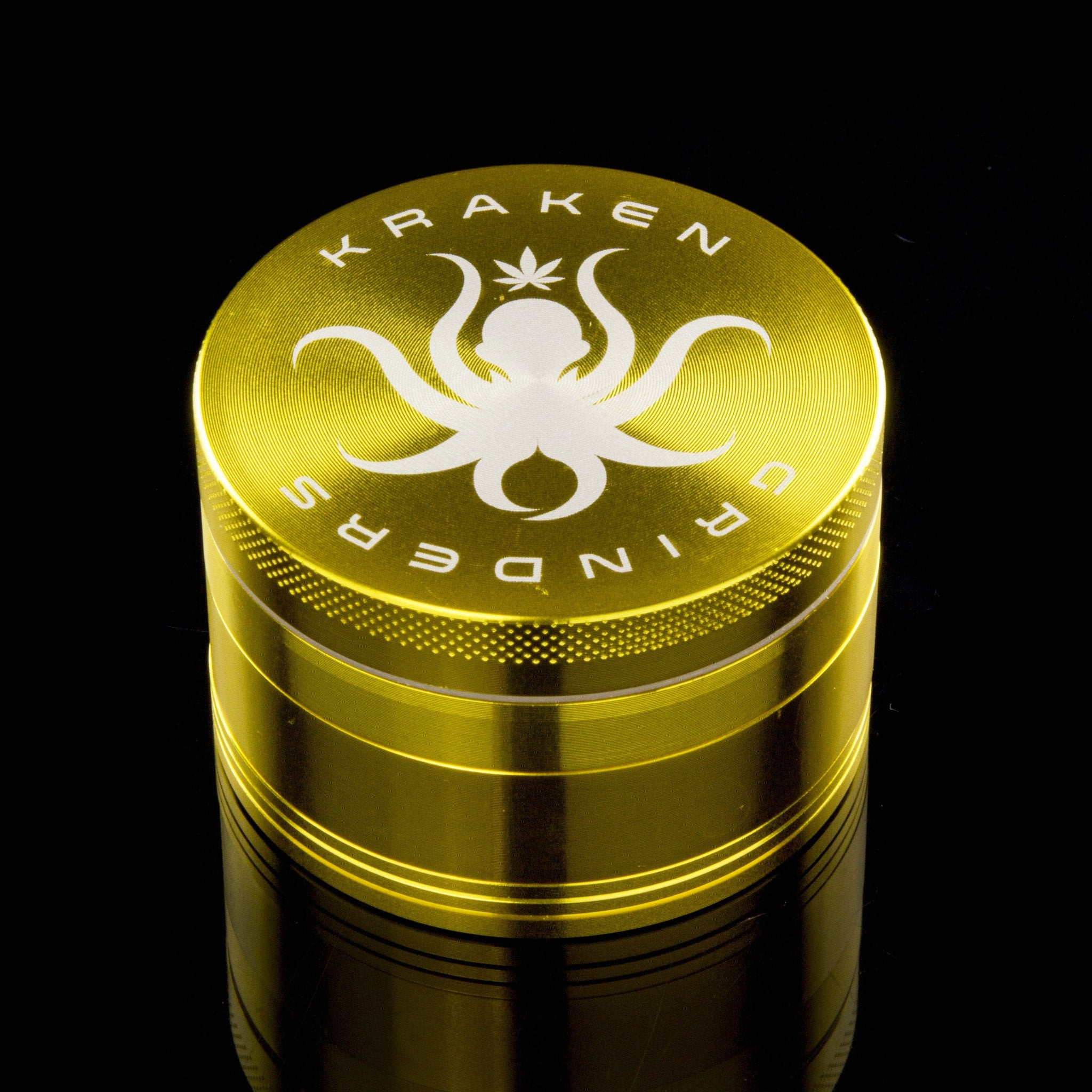 "Kraken 2.5"" Solid Color 4-part Grinder"