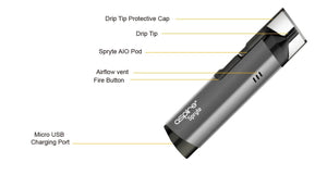 Aspire Spryte Kit (MSRP $35.00)-Vaporizers-Vape In The Box