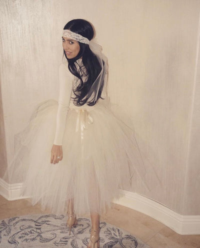 Adult Tutu Skirt - Short or Tea Length Premium Tulle