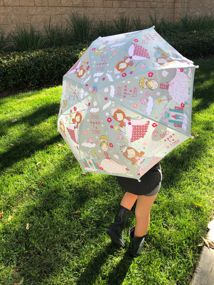 Pretty Princess Color Changing Umbrella - Floss + Rock