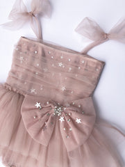 Stardust Bow Dress (Big Girl)