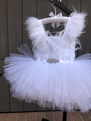 Swan Princess Dress - White