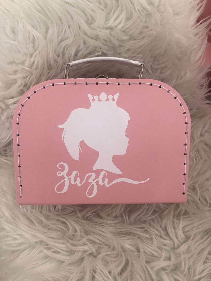 Pretty Princess Personalized Suitcase Box (25% off with code HAPPY21)