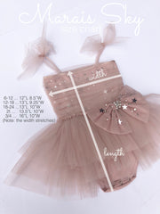Stardust Bow Dress (Baby)